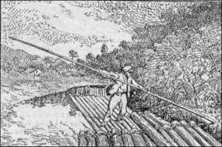 Les Québécois disent la  drave  pour le transport du bois flotté. Que disons-nous ?