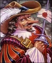 Le nez de Cyrano de Bergerac formait relief, dépassait tout ce qui l'entourait, le précédait. Il formait une :