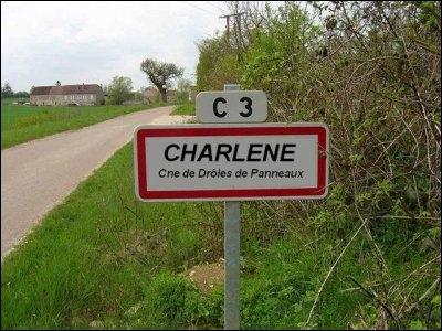 Le « C » en haut du panneau signifie…