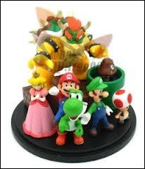 Classez ces personnages du plus grand au plus petit (par taille).