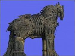 Lequel de ces héros imagina le cheval de Troie ?