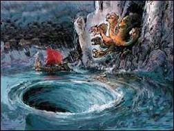 Lequel de ces héros affronta Charybde et Scylla ?