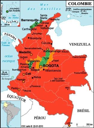 Les notables de Colombie ...