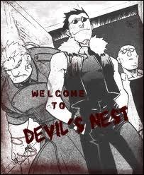 Au Devil's Nest, il y a...