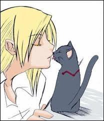 Envy a offert un animal de compagnie à Edward. C'était...