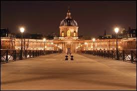 Le pont des Arts n'est qu'une passerelle qui relie le Louvre à l'Institut de France. Quelle est sa particularité ?