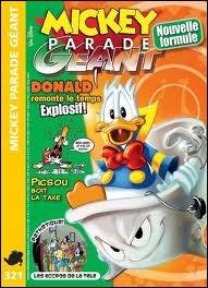 Quel est le surnom des Mickey Parade Géant ?