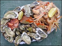 On consomme crus les 5 ovaires d'un fruit de mer. Lequel ?