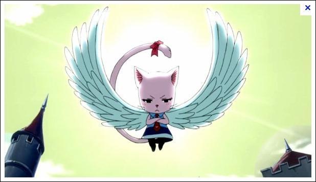 Comment s'appelle le chat de la fille du dragon ? (dans le manga)