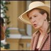 Que boit Gaby dans la piscine de Mme Hildebrand ?