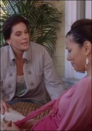 Sur quelle pelouse se bat Susan et Gaby ?