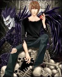 Light veut devenir un dieu de la mort comme Ryuk.