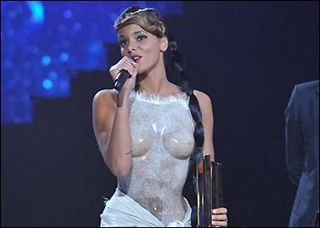 Combien de fois a-t-elle gagné un NRJ Music Awards ?
