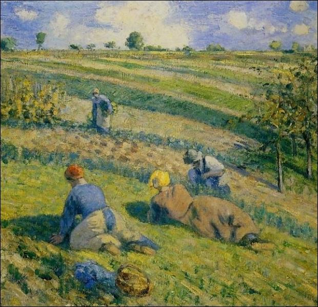 Quizz travaux des champs en peinture quiz peintres for Camille pissarro oeuvre