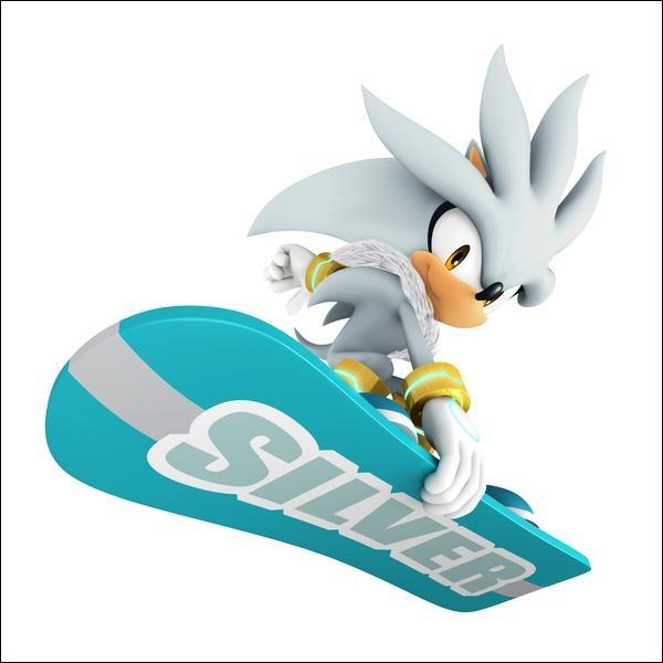 Silver the Hedgehog...