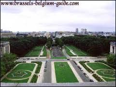 Quel monument fut érigé à Bruxelles pour commémorer le 50ème anniversaire de l'indépendance de la Belgique ?