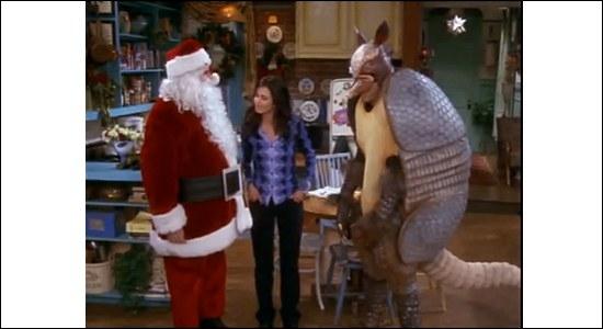 Qui est déguisé en Père Noël ?