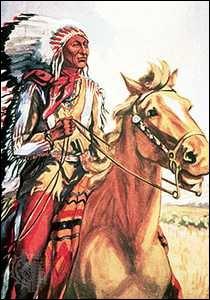 De quelle tribu amérindienne Crazy Horse était-il le chef ?