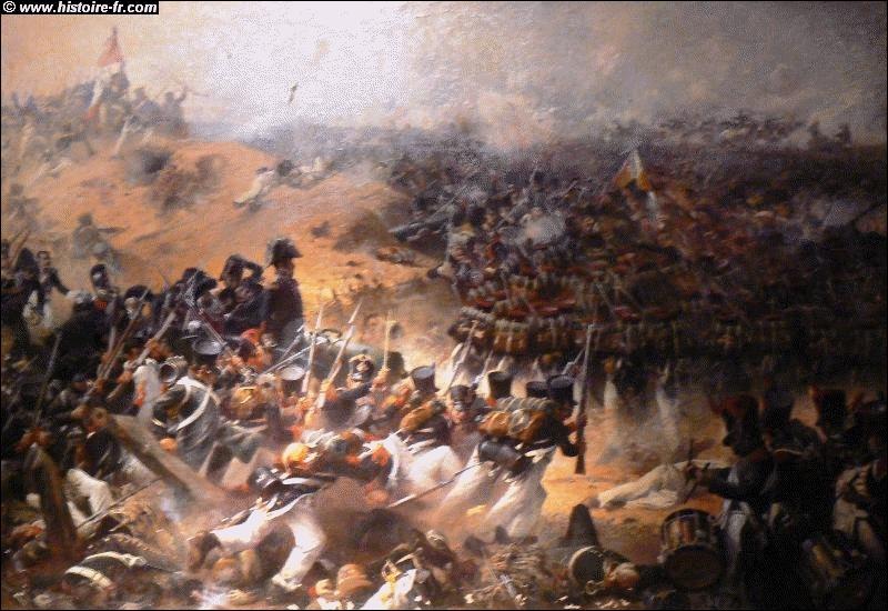 Cette bataille, qui a eu lieu en 1812, aussi appelée Borodino, est illustrée par cette peinture de Julien Le Blant. Quelle est-elle ?