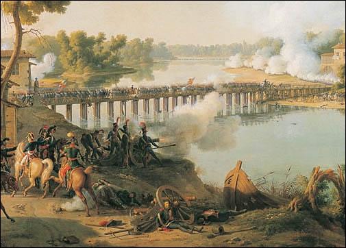 L. F. Lejeune, sur ce tableau, dépeint quelle bataille ayant eu lieu le 10 mai 1796 ?