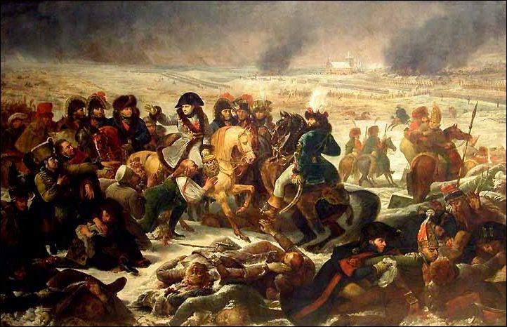 A quelle bataille sanglante, de 1807, cette toile d'Antoine-Jean Gros, fait-elle référence ?