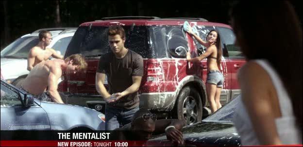 Episode 5 : Lors du nettoyage de voitures, Bonnie fait prendre feu à une des voitures sur le parking; de quelle couleur est-elle ?