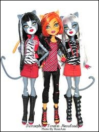 Qui sont ces 3 Monster High ?