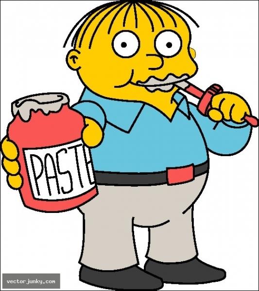 Ralph aime-t-il ou (a-t-il aimé) Lisa Simpson ?