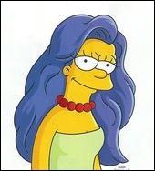 A une époque Marge a-t-elle eu les cheveux lisses(On vous donne la réponse sur l'image) ?