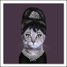 Actrice britannique dans  My Fair Lady  et  Guerre et Paix , elle fut aussi l'égérie du couturier H. de Givenchy.