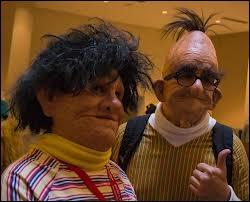 Et voici des fans de Bart et Ernest de...