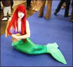 Pas très pratique ce costume... Quel est le prénom de la petite sirène ?
