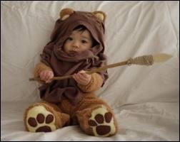 Il est pas mignon le petit Ewok ? Dans quelle saga cinématographique croise-t-on des Ewoks ?