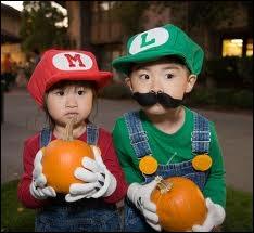 Ces enfants se sont déguisés en...