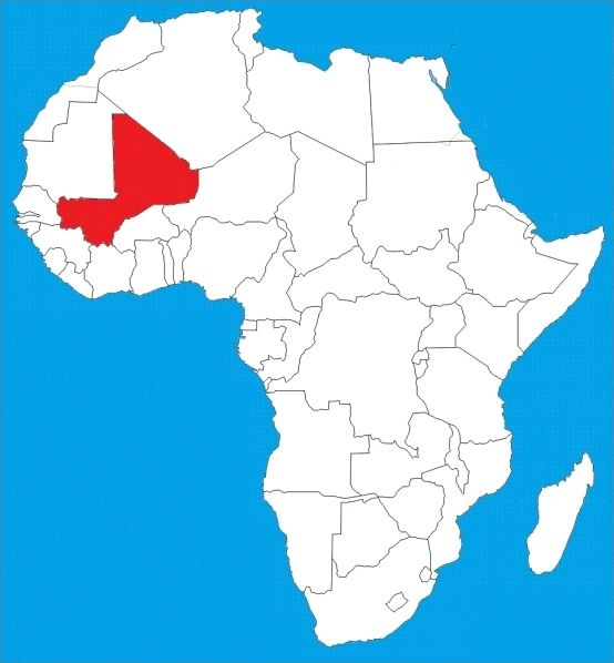 7 pays d'Afrique à replacer 2/2