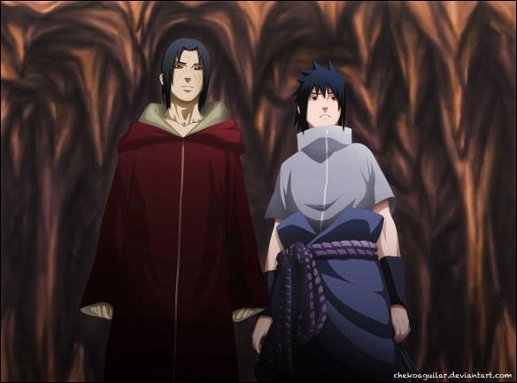 Contre qui Sasuke et Itachi vont-ils devoir se battre ?