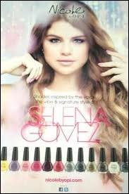 Est-il vrai que Selena Gomez a sorti sa ligne de vernis à ongle ?