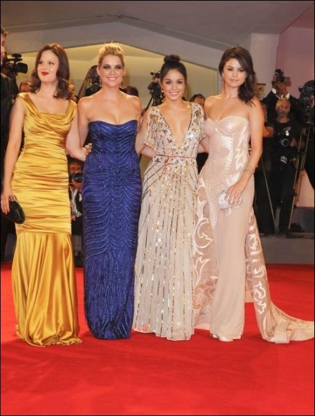 Quels sont les derniers films de Selena Gomez en 2012 ?