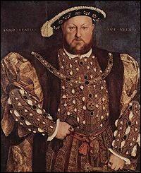 Henry VIII était aussi Roi ...
