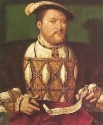 Henry VIII et son entourage