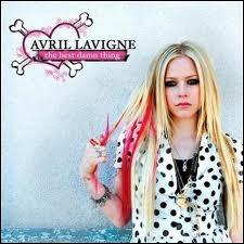 Quelle est la chanson qui n'est pas dans l'album de Avril Lavigne : The Best Damn Thing ?