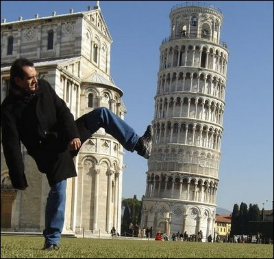 Quelle est actuellement l'inclinaison de la tour de Pise ?