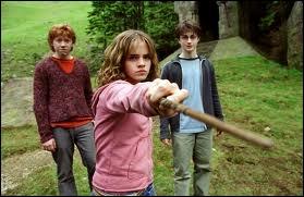 Dans le troisième film, à qui Hermione donne-t-elle une baffe ?