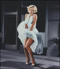 De ce film, on a gardé l'image de la robe de Marilyn Monroe qui s'envole au-dessus d'une bouche d'égout.