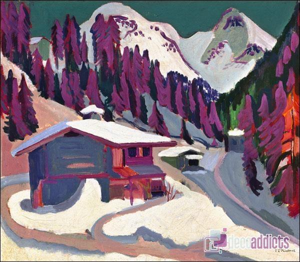 Qui a peint Dans la neige ?