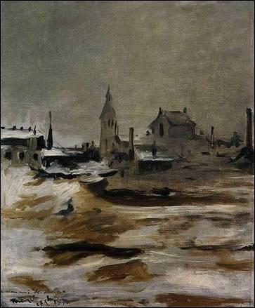 Qui a peint Effet de neige à Petit Montrouge ?
