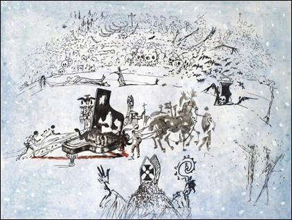 Qui a peint Le piano sous la neige ?