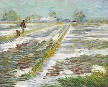 Qui a peint Paysage enneigé ?
