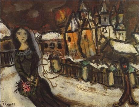 Qui a peint Village sous la neige ?