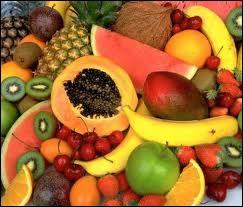 Parmi ces fruits, lequel est le plus riche en vitamines C ?